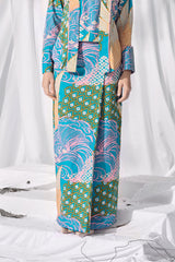 The Langit Women Folded Skirt - Tanjung
