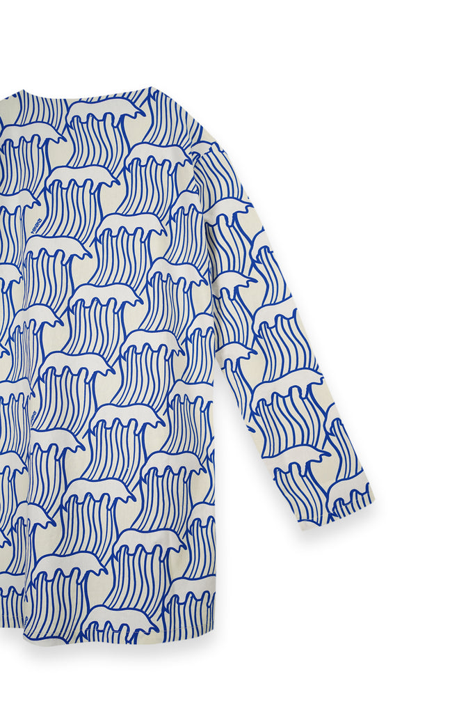 The Bangun Men Pair Pockets Kurta - Nami Print
