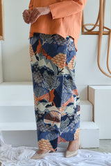 The Sungai Women Folded Skirt - Kangsar