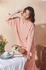 The Balik Women Dolman Sleeve Blouse - Peach