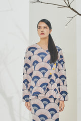 The Timur Women Wrapped Blouse - Ogi