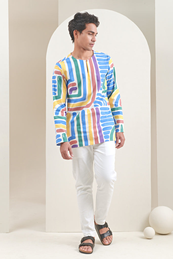 The Oasis Men Kurta - Joy