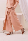 The Nari Women Overlay Trousers - Peach
