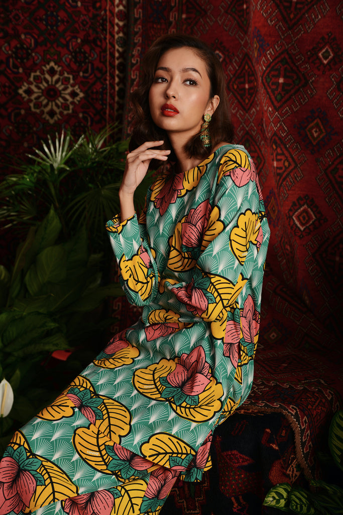 The Teratai Women Kameez - Magic Lotus