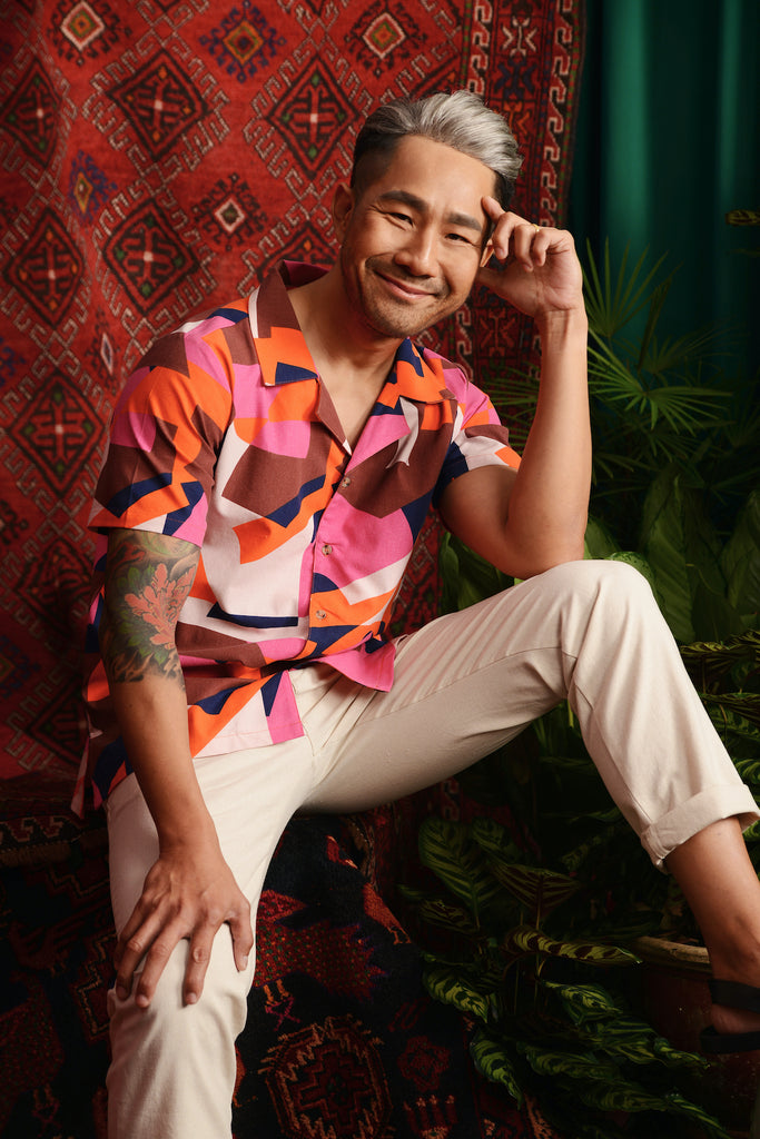 The Teratai Men Cuban Shirt - Malana
