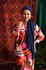 The Teratai Women Boxy Blouse - Malana