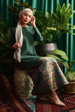 The Teratai Women Kameez - Dark Green