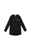 The Oasis Men Baju Melayu Shirt With Pocket - Black