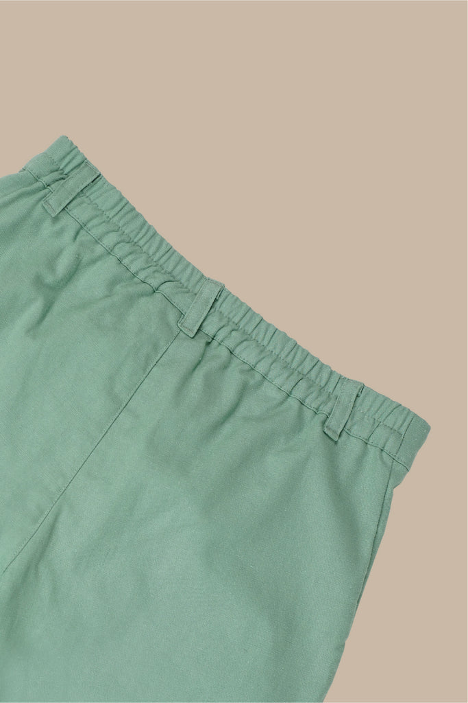 The Everyday Women Palazzo - Fresh Vegan Green