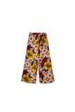 The Nari Women Overlay Trousers - Hibiscus Print