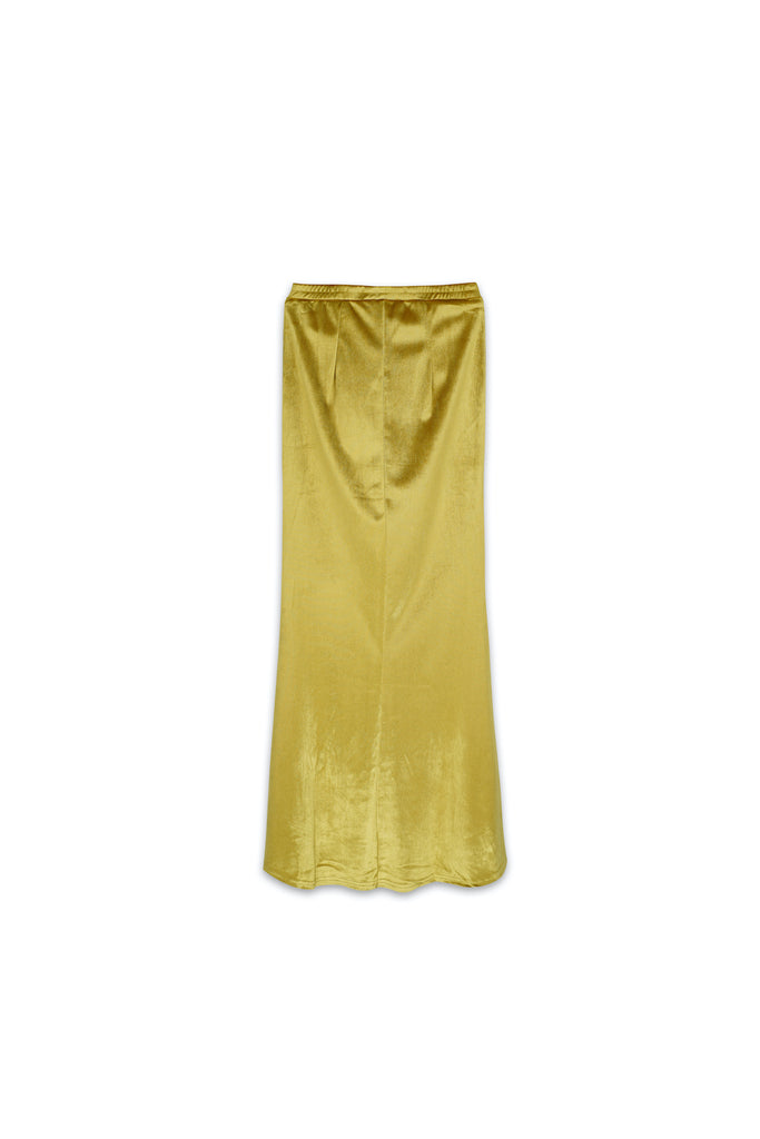 The Nari Women Mermaid Skirt - Lemon Yellow