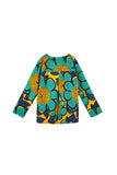 The Oasis Women Folded Back Blouse - Sunshine