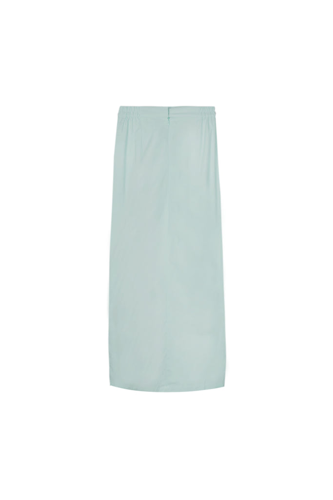 The Oasis Women Godet Skirt - Vegan Green