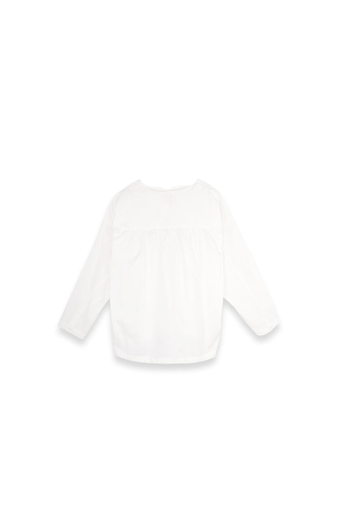 The Langit Women Origami Blouse - White