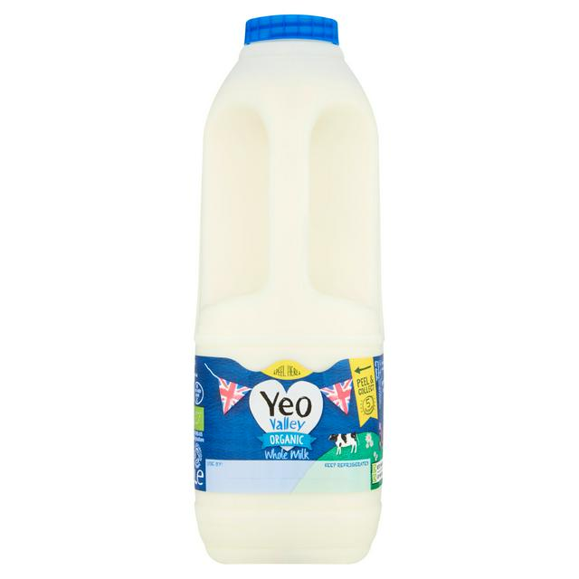 2 litre Organic Whole Milk