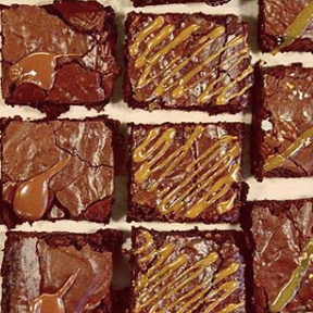 Mixed 4-box: Assorted brownies (x3), Lemon blondie (x1) (All GF + Vegetarian)