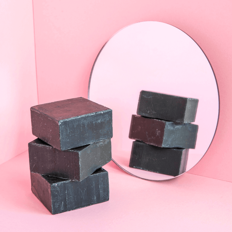 Charcoal Soap Mirror Selfie | Bambooi Beauty & Care