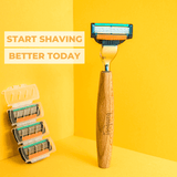 Bamboo Razor | Start Shaving Better Today
