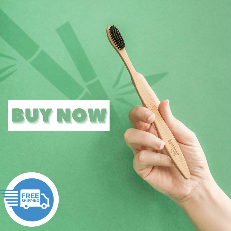 Eco Friendly Toothbrush - Charcoal