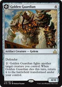 Golden Guardian [Rivals of Ixalan] | Ministry of Hobbies