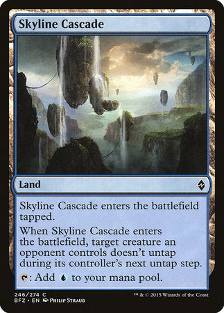 Skyline Cascade [Battle for Zendikar] | Ministry of Hobbies
