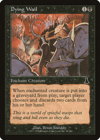 Dying Wail [Urza's Destiny] | Ministry of Hobbies