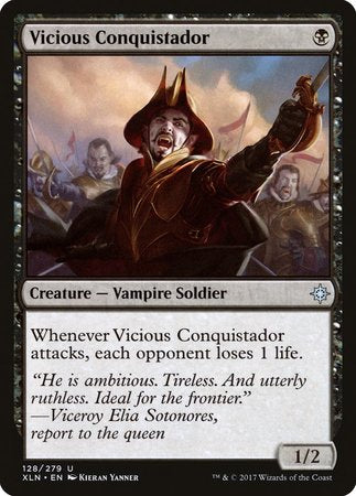 Vicious Conquistador [Ixalan] | Ministry of Hobbies