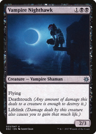 Vampire Nighthawk [Explorers of Ixalan] | Ministry of Hobbies