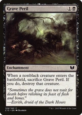 Grave Peril [Commander 2015] | Ministry of Hobbies