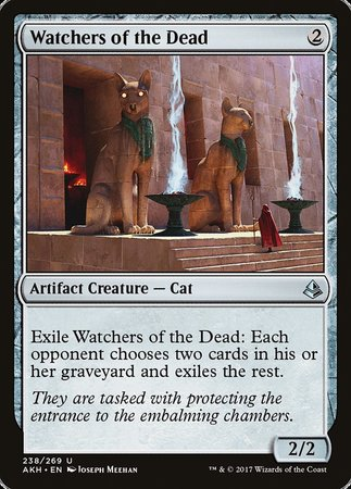 Watchers of the Dead [Amonkhet] | Ministry of Hobbies