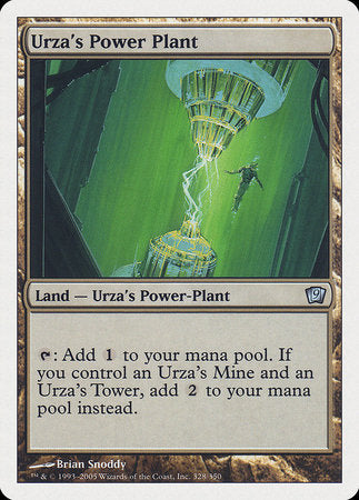 Urza's Power Plant [Ninth Edition] | Ministry of Hobbies