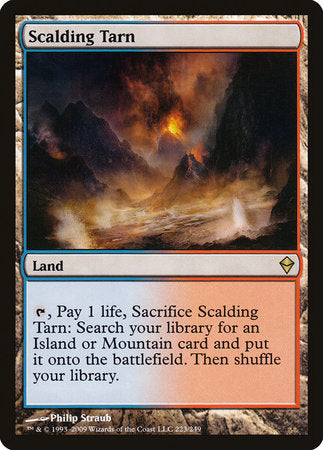 Scalding Tarn [Zendikar] | Ministry of Hobbies