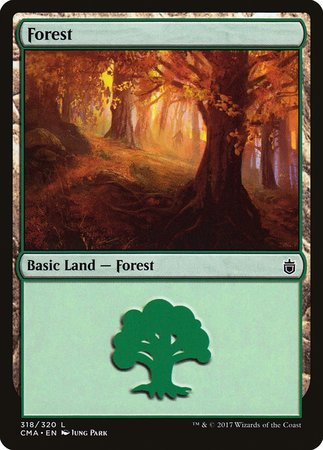 Forest (318) [Commander Anthology] | Ministry of Hobbies