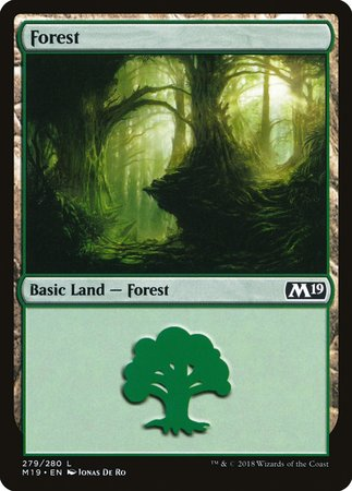 Forest (279) [Core Set 2019] | Ministry of Hobbies