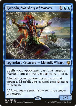 Kopala, Warden of Waves [Ixalan] | Ministry of Hobbies