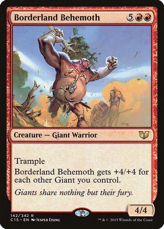 Borderland Behemoth [Commander 2015] | Ministry of Hobbies