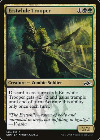 Erstwhile Trooper [Guilds of Ravnica] | Ministry of Hobbies