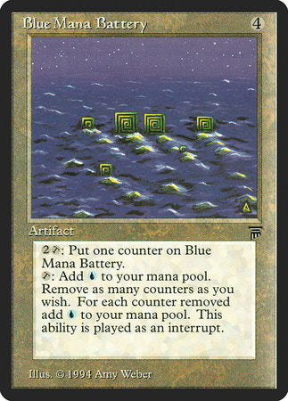 Blue Mana Battery [Legends] | Ministry of Hobbies