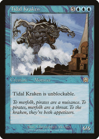 Tidal Kraken [Mercadian Masques] | Ministry of Hobbies