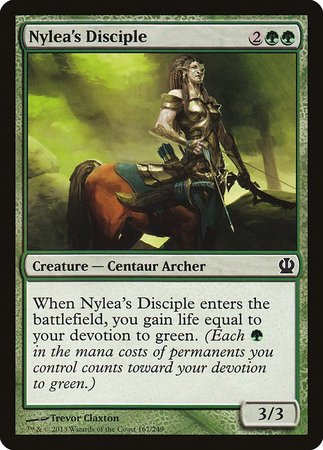 Nylea's Disciple [Theros] | Ministry of Hobbies