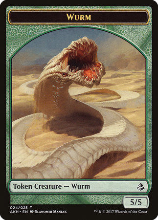 Wurm Token [Amonkhet Tokens] | Ministry of Hobbies