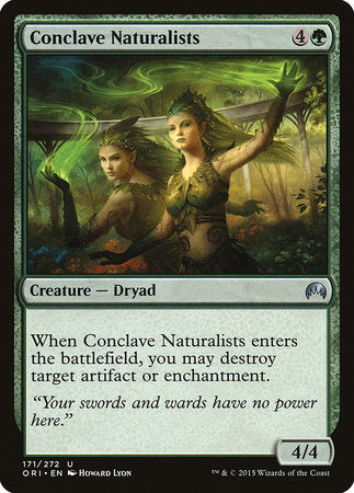 Conclave Naturalists [Magic Origins] | Ministry of Hobbies