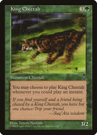 King Cheetah [Visions] | Ministry of Hobbies