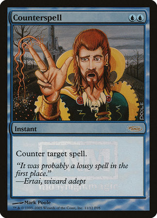 Counterspell [Friday Night Magic 2005] | Ministry of Hobbies