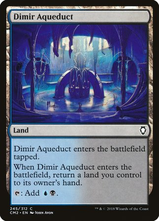 Dimir Aqueduct [Commander Anthology Volume II] | Ministry of Hobbies