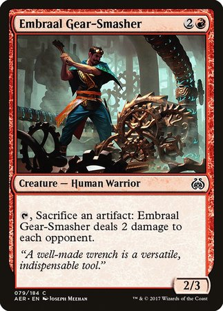 Embraal Gear-Smasher [Aether Revolt] | Ministry of Hobbies