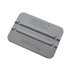 "Grey 4"" plastic Scraper / Squeegee / Burnisher"