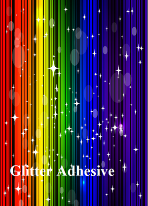"Adhesive Glitter and Holographic - 12"" x 12"""