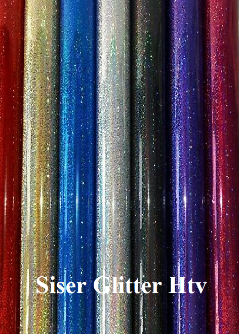 Siser Easyweed Iron On- Htv - Heat Transfer Vinyl  – Glitter