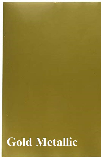 Oracal 651 – Permanent Outdoor Adhesive Vinyl - Gold Metallic- 091